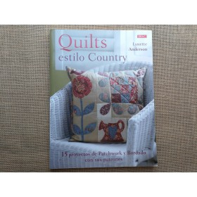 "LIBRO ""QUILTS ESTILO COUNTRY"""