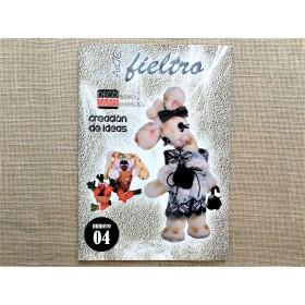 """LIBRO """"ARTE FIELTRO 4"""""""